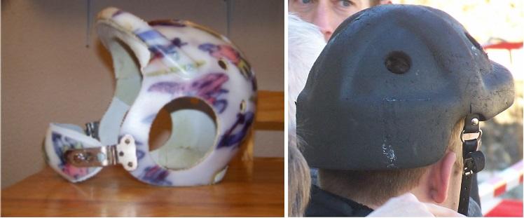 quelques exemples de casque de protection